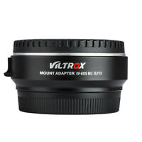 VILTROX EF-EOS M2 AF Lens Adapter 0.71x Speed Booster for Canon EF to EOS-M EF-M