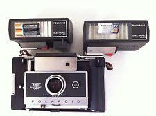 *GOOD* Polaroid Land Camera 360 w/CR123 batt,Tested FLASH #365 ok(use FP100 film