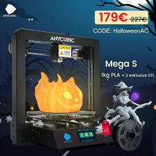 ANYCUBIC I3 Mega S 3D Drucker Kit mit größerem Druckbereich 3,5'' TFT + 1kg PLA