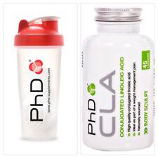 PhD Nutrition CLA 1000mg 45 Softgels Fat Loss Range Fat Burner & SHAKER