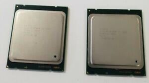 MACTHING PAIR Intel Xeon E5-2680 2.70 GHz, 8 CORE 20M CACHE SR0KH CPU  FCLGA2011