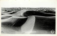 c1940 Frashers Rppc Postcard Sand Dunes Unknown Western Us Location Unposted