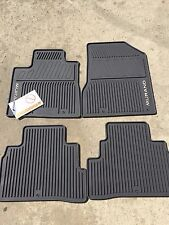 NEW OEM NISSAN MURANO 2015-2017 CHOCOLATE  ALL WEATHER RUBBER FLOOR MAT SET