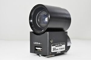 *Exc+++* Mamiya 50mm View Finder for Universal Press & Super 23 from Japan #1462