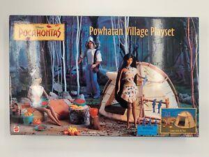 Mattel Disney Pocahontas Powhatan Village Playset 67217 NRFB