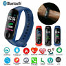 M3X Smart Watch Heart Rate Blood Pressure Monitor Sports Tracker Bracelet Y6U5