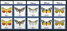 Bund 1602/6 ** - Paar  - Für die Jugend - Schmetterlinge