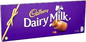 Cadbury Dairy Milk Chocolate Gift Bar 850g Cadburys Large Big Gifts Presents