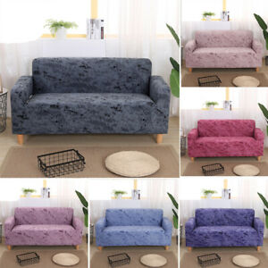 Stretch Sofa Covers 3 Seater Couch Chair Covers 1/2/3/4 Seater l Shape for Room