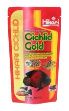 Hikari Cichlid Gold 2 oz | Floating Mini Pellet | High Protein Daily Fish Food