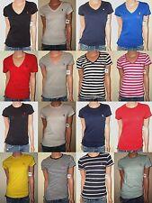 POLO RALPH LAUREN WOMEN'S T-SHIRTS V-NECK - CREW NECK COTTON JERSEY XS,S,M,L,XL