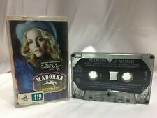 Madonna Music (Maverick 2000) Audio Cassette Tape