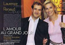 COUPURE DE PRESSE CLIPPING 2009 LAURENCE FERRARI & RENAUD CAPUCON (6 pages)