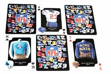 NFL Playing Cards Throwback Football Jerseys & Helmets  NIB Limited Quantity