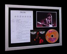 JIMI HENDRIX Hey Joe LTD MUSIC CD TOP QUALITY FRAMED DISPLAY+EXPRESS GLOBAL SHIP