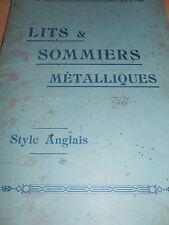 catalogue de lits - sommiers style anglais ( ref 4 )