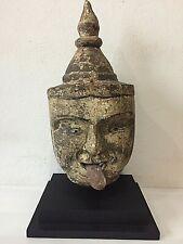 Antique Burmese puppet head