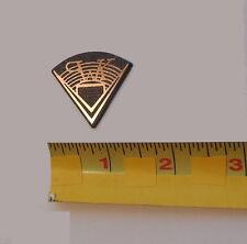 One Small Speaker Badge Klipsch Pie Shaped Logo Plastic Grille Emblem Nameplate