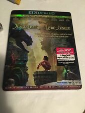Disney The Jungle Book 4K + Blu Ray + DC Brand New With Slipcover