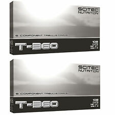 Scitec Nutrition 2x T-360 108 Kaps. Tribulus terrestris L-Arginin Zink Carnitine