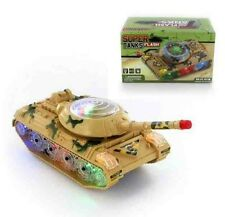 Super Flash Tanks Go with flashing lights Sound Great Fun For Children