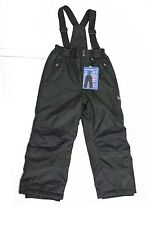 NWT Weatherpoof 32 DEGREES BOYS WINTER SKI BOARDER SNOW PANT BLACK SIZE M 10-12