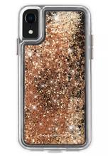 Case-Mate IPHONE Xs Max Oro Cascada Claro Plástico Protección Teléfono Funda New