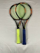 Wilson Burn 100S Tennis Racquets (2) #3, 4 3/8 Solinco / Wilson Gut