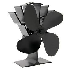 Heat Powered 4 Blade Stove Fan | Eco Fireplace Efficiency | M&W