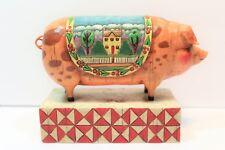Cute Jim Shore Country Heritage Pig #117142 Heartwood Creek