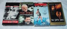 Conspiracy Theory, The Edge, Cliffhanger, The Sixth Sense Set Of 4 Vhs Movies