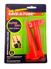 SAVE-A-TUBE caulking caps gun caulk adhesive dap silicone white latex alex seal