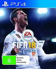 EA Sports FIFA 18 Soccer Football Footy Video Game For Sony Playstation 4 PS4