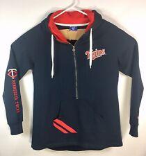 Minnesota Twins Champion Pullover 1/2 Zip Front Pockets Jacket XXL GUC