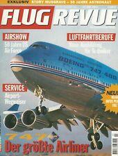 FLUG REVUE 7/1997 - Focke Wulf Ta 152 - Hyper-X - Mitsubishi F-2 - Boeing 747