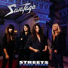 SAVATAGE - STREETS A ROCK OPERA - CD DIGIPACK SIGILLATO 2011 WITH BONUS
