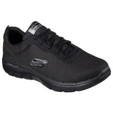 Skechers Flex Advantage Black Mens Lace Up Fitness Running Trainers Size 7-13