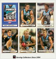 2004 Herald Sun AFL Trading Cards Base Card Team Set Port Adelaide (11)