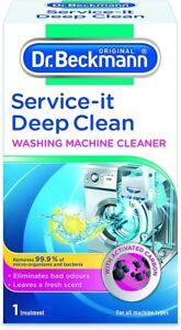 1x Dr Beckmann Service-It Deep Clean Washing Machine Cleaner 250g by DRBECKMANN