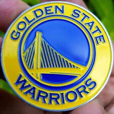 PREMIUM NBA Golden State Warriors Poker Card Guard Chip Protector Golf Marker