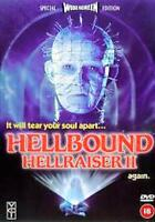HELLBOUND HELLRAISER II 2 CLARE HIGGINS ASHLEY LAURENCE KENNETH CRANHAM DVD NEW