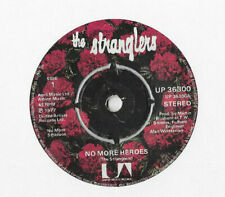 "THE STRANGLERS * NO MORE HEROES * 7"" SINGLE UNITED ARTISTS UP 36300 PLAYS GREAT"