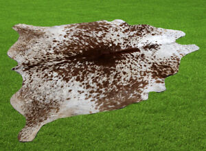 """100% New Cowhide Rugs Area Cow Skin Leather (56"""" x 51"""") Cow hide WWL-61"""