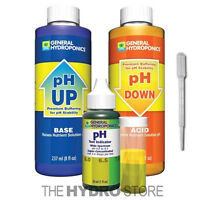 General Hydroponics pH Control Test Kit  - GH 8 oz Up Down Adjustment Combo