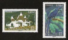 FRANCE 2014 - Timbres de Service UNESCO n° 161 et 162 NEUFS** LUXE MNH