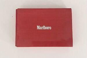 MARLBORO VINTAGE KEY HOLDER CASE WALLET CIGARETTE ADVERTISING RARE
