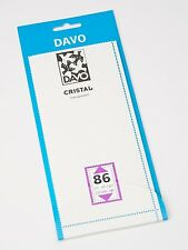 DAVO CRISTAL STROKEN MOUNTS C86 (215 x 90) 10 STK/PCS