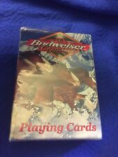 Vtg 1999 Budweiser Clydesdales Horses Playing Cards Sealed Nos