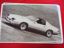 1983 CHEVROLET CAMARO Z28 T-TOPS    11 X 17  PHOTO   PICTURE