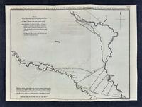 c 1850 Ancient Greece Map - Greek Marches to Battle of Kunaxa Bagdad Persia Iraq